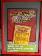Kader Met Reklame   LOTERIE NATIONALE - Billets De Loterie