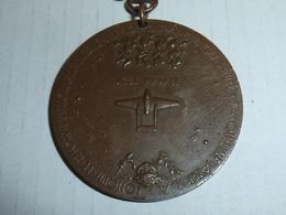 MEDAILLE JACQUELINE AURIOL - RECORD DU MONDE DE VITESSE SUR 100 Km/s - 12 Mai 1951 - AVION VAMPIRE **RARE**(AB&AC) - France