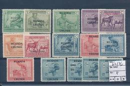RUANDA URUNDI COB 62/76 LH - Ruanda-Urundi