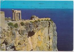 Greece, RHODES, Acropolis Of Lindos, Used Postcard [22094] - Greece