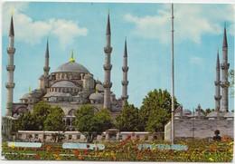 ISTANBUL, The Blue Mosque, Turkey, 1974 Used Postcard [22095] - Turkey