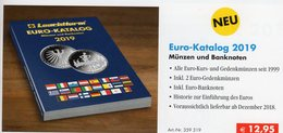 Leuchtturm EUROPA EURO Katalog 2019 New 13€ Mit Münzen Numisblatt Numisbriefe Banknoten Coin Numis-catalogue EUROPE - Manuali