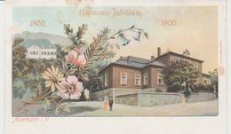 Allemagne AUERBACH I.V. Harmonic-Jubilaum 1900 - Auerbach (Vogtland)