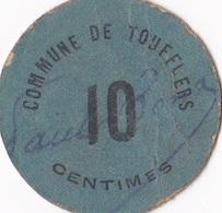 TOUFFLERS /bon De 10c - Bons & Nécessité