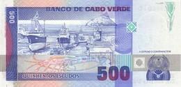 CAPE VERDE P. 59a 500 E 1989 UNC - Cape Verde