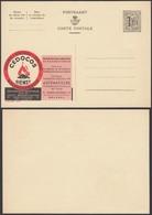 Publibel 1414 - 1F20 - Thématique Charbon, Feu (DD) DC0520 - Stamped Stationery