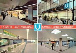 KÖLN : U-Bahn - Station-Hauptbanhof - Koeln