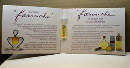 Miniature TUBE FAROUCHE NINA RICCI - Cartes Parfumées