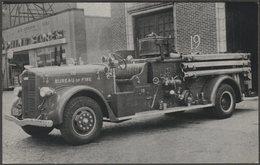 1941 Ward LaFrance 1000 Gpm Triple Combination Pumper - Raum Postcard - Trucks, Vans &  Lorries