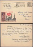 Publibel 1407 - 1F20 - Thématique Saint, Hôtel De Ville (DD) DC0525 - Postwaardestukken