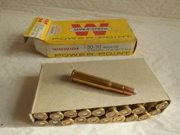 3 Boites De 20 Balles 170 Grains Winchester Super Speed Power Point 30 / 30 USA. - Decotatieve Wapens