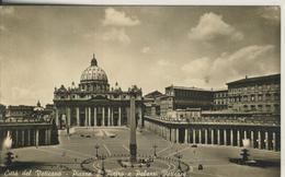 Citta Del Vaticano -- Piazza S. Pietro E Palazzi Vaticani V. 1960   (2476) - Vatikanstadt