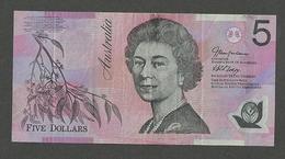 Australia 5 Dollars 2005 P-57c POLIMER - Emissions Gouvernementales Décimales 1966-...