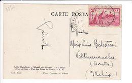 France 1936 Timbre Le Puy En Velay Sur Cpa Pelvoux Francia Commemorativo Su Cartolina - Francia