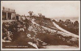 Cliff Gardens, Leigh-on-Sea, Essex, 1950 - RP Postcard - Southend, Westcliff & Leigh