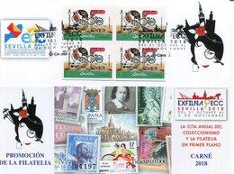 ESPAÑA  Carnét  Matasellado Promoción De La Filatelia 2018 - 2011-... Gebraucht