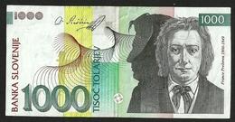 SLOVENIA 1000 TOLARJEV 2005 P#32c VF++ - Slovénie