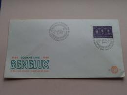 1944 DOUANE UNIE 1964 - BENELUX : 12 Okt 1964 ' Gravenhage ( Zie/voir Foto's Voor/pour Détails ) ! - FDC