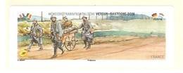 Vignette VIERGE Lisa Verdun Bastogne Atm Frama Cinderella Guerre Mondiale Militaria WW WK CASQUE - 2010-... Abgebildete Automatenmarke
