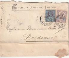 Grande Bretagne N°  95 Et 99 - 1840-1901 (Victoria)