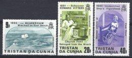 Tristan Da Cunha  Yv 389/91, Naufrages ** Mnh - Tristan Da Cunha