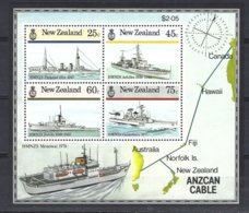 New-Zealand  Yv BF 53 , Marine De Guerre  ** Mnh - Blocs-feuillets