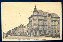 Cpa De Belgique Middelkerke  Rue De L' église , Kerkstraat    YN5 - Middelkerke
