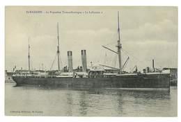 CPA MARINE BATEAU PAQUEBOT LE LAFAYETTE - Dampfer