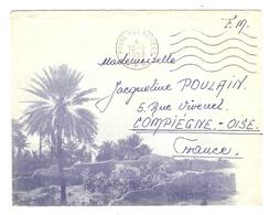 LETTRE FM FRANCHISE MILITAIRE AFN A.F.N. POSTE AUX ARMÉES 18 3 1958  - Leg. SZEBELÉDY S.P. 88 175 - Poststempel (Briefe)