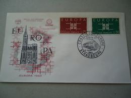 FRANCE  FDC EUROPA  1963 - Europa-CEPT