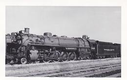 RP: Northern Pacific Railroad Train , SEATTLE , Washington , 40-50s - Trains