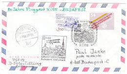 AUSTRIA FLUGPOST WIEN-BUDAPEST 1998 - Austria