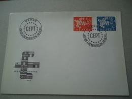 SWITZERLAND  FDC  EUROPA  1961 - Europa-CEPT