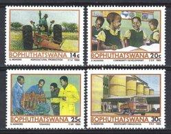 Bophuthatswana  Yv 173/6  Projet Temisano Pour Le Développement  ** Mnh - Bophuthatswana