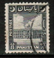 PAKISTAN  Scott # 52 VF USED (Stamp Scan # 428) - Pakistan