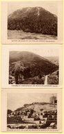 3 Photos Images Ets Bergougnan à Clermont-Ferrand. Le Puy De Dome, Sommet Du Puy De Dome, Vallée Du Remontalou. - Other