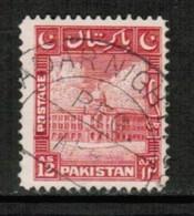 PAKISTAN  Scott # 54 VF USED (Stamp Scan # 428) - Pakistan
