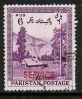 PAKISTAN  Scott # O 44 VF USED (Stamp Scan # 428) - Pakistan