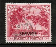 PAKISTAN  Scott # O 46 VF USED (Stamp Scan # 428) - Pakistan