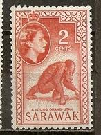 Sarawak 1960 Singe Monkey M * - Sarawak (...-1963)