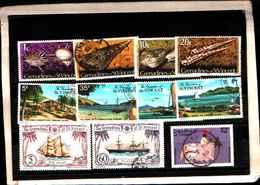 73322)  Grenadinesof SAN VINCENT-LOTTO FRANCOBOLLI -USATI - St.Vincent E Grenadine