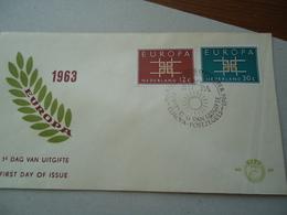 NETHERLAND   FDC EUROPA  1961 - Europa-CEPT