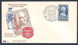 Journée Du Timbre Avignon 1953 - FDC