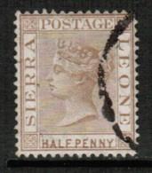 SIERRS LEONE  Scott # 11 VF USED (Stamp Scan # 428) - Sierra Leone (...-1960)