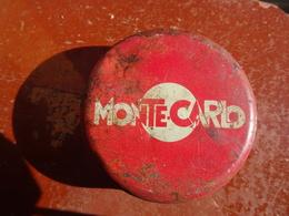 Publicité Boîte Ancienne En Métal Monte Carlo - Boxes