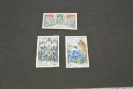 FR166-set  MNH  France -  1968-  SC. 1227-1229- Jeanne D'Arc , Mort De Du Guescijn Et Philippen Le Bel - Ungebraucht