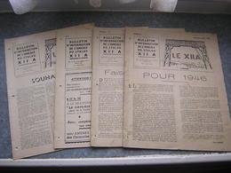 LOT DE 4 N° - BULLETIN DE L'AMICALE DU STALAG XII A - 1946 - Revues & Journaux