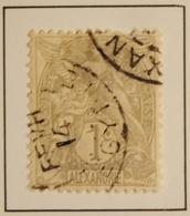 1902 - ALEXANDRIE Y&T 19 Type Blanc  (ex-colonies Et Protectorats)  Oblitéré - Alexandrie (1899-1931)