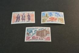FR244-set MNH  France -  1971-   SC.1305-1307 -prise De La Bastille  - Bataille De Valmy Et Ouverture Des Etats Generaux - Neufs