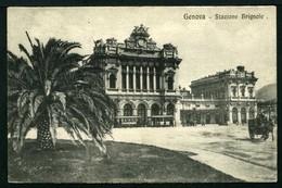 Genova - Stazione Brignole - Ristoro Soldati - Viaggiata 1918 - Rif. 15831 - Genova